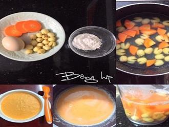Mách mẹ cách nấu 7 món cháo tăng cân cho bé còi