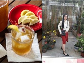 Giảm 5kg trong 3 tuần chỉ nhờ uống nước chanh mật ong như cô nàng sinh viên 9X