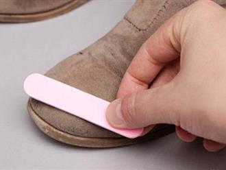 """1001 mẹo """"thần thánh"""" giúp quần áo, giày dép lúc nào cũng như đồ mới mua"""