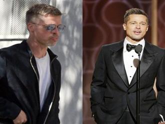 Brad Pitt khiến fan 'sốc' vì suy sụp già nua đến không nhận ra