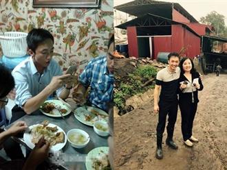 Ăn cơm từ thiện 5 nghìn đồng, Cường Đô La gây bất ngờ với hình ảnh quá đỗi giản dị