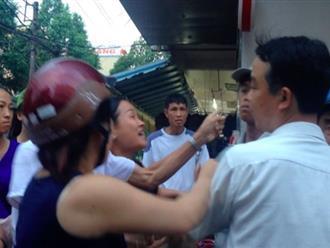 Chống đối lực lượng chức năng dẹp vỉa hè bị lấn chiếm, tát một Phó chủ tịch phường