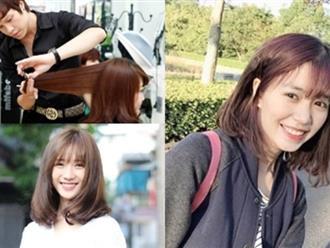 Dù mặt tròn hay dài, là con gái nhất định phải để kiểu tóc chạm vai này 1 lần trong đời