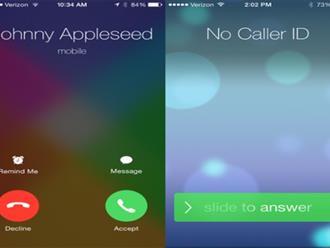 Xài Iphone cả đời, nhưng không phải ai cũng biết tại sao nó lại có hai cách nhận cuộc gọi