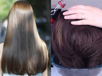 """Lấy nước ngọt có ga để ngâm tóc trong 15 phút, cô gái """"rú"""" lên vì sung sướng khi thấy kết quả"""