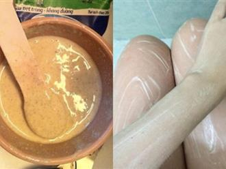 Dùng cám gạo trộn với bột đậu đỏ bạn sẽ có làn da trắng bừng sau 1 tuần sử dụng