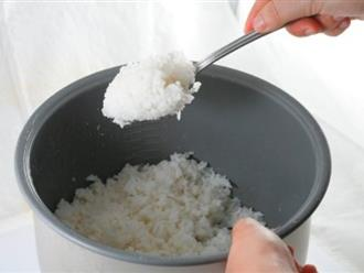 Mùa nóng, làm thế nào để cơm nguội không bị thiu?