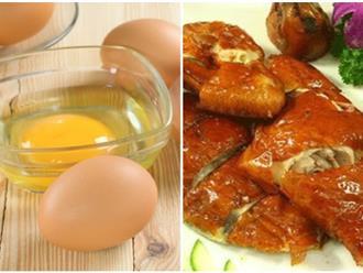 Thực phẩm cấm cho con dùng chung với trứng gà để tăng trí thông minh