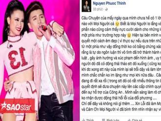 Noo Phước Thịnh chính thức lên tiếng về nghi án hủy show và xúc phạm Đông Nhi