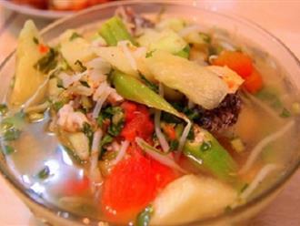 Chỉ cách nấu canh chua cá thơm ngon hấp dẫn cho bữa cơm ngày hè ai ăn cũng mê
