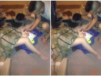HOT: Chồng đỡ đẻ cho vợ ngay vỉa hè gây 'bão' dân mạng