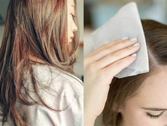 Nắng nóng đến 40 độ tóc cũng không bị bết bẩn chỉ bằng 3 mẹo nhỏ này