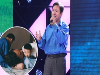 Thắt lòng với những bí mật chưa tiết lộ của người cha thi hát Bolero vì hai con bị bại não