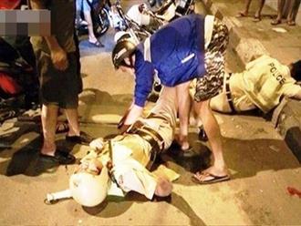 Người vi phạm lao trực diện vào xe đặc chủng, đánh CSGT ở Sài Gòn