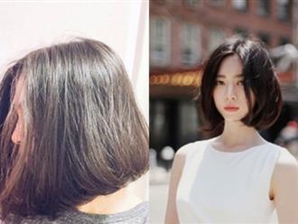 Cầu kỳ làm chi, chỉ cần để tóc bob thẳng nguyên sơ thế này là đã đủ xinh ngất ngây rồi nhé!