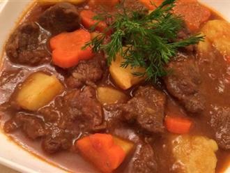 Mách bạn cách nấu món thịt bò kho nhanh mềm, thơm ngon chuẩn vị ai ăn cũng thèm