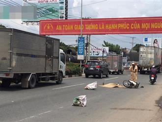 Người đàn ông bị xe container kéo lê 10m, tử vong tại chỗ