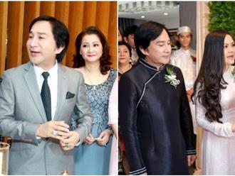 Cận cảnh nhan sắc của vợ cũ, vợ mới nghệ sĩ Kim Tử Long trong đám cưới con gái