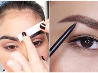 Đây là cách mà các chuyên gia trang điểm vẽ lông mày dày đẹp tự nhiên