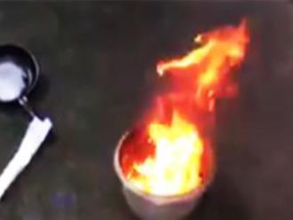 Đồng Nai: Nước giếng ăn nổi váng, đốt cháy ngùn ngụt