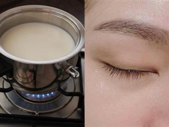 Lấy gạo đun với sữa tươi rồi chà lên mặt theo cách này, da cứ thế trắng nõn vạn người mê, cả đời không lo bắt nắng, sạm đen trở lại