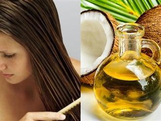 Chữa rụng tóc sau sinh bằng dầu dừa liệu có hiệu quả?