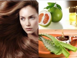 5 công thức trị rụng tóc bằng tinh dầu bưởi cực hiệu quả