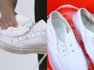 Đi giày dép cả đời mà không biết 8 mẹo làm giày sạch, trắng tinh như mới sau 5 phút này thì thà đừng đi còn hơn