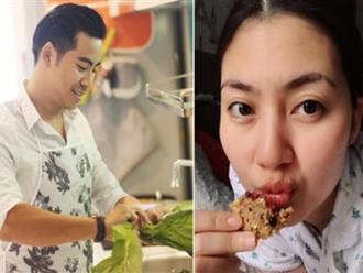 Xem món ăn Ngọc Lan tự tay làm mới hiểu tại sao Thanh Bình lại 'giành' việc nấu nướng với vợ