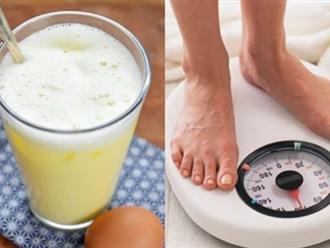Đập lòng đỏ trứng gà vào cốc bia đánh tan rồi uống, đến thánh gầy cũng phải tăng 7kg/2 tuần mà không sợ tanh