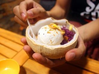 Cách làm kem xôi dừa tuyệt ngon tại nhà
