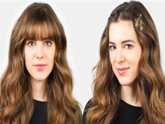Cách làm tóc mái dài nhanh chị em cần thuộc nằm lòng