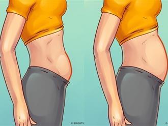 Chị em rất hay thường nhầm lần 5 loại béo bụng và các quan niệm sai lầm khi giảm mỡ