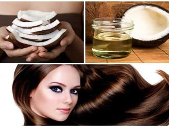 Ủ tóc bằng dầu dừa có tác dụng gì?