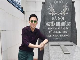 Dương Triệu Vũ đáp trả khi bị chê teo não vì cười trước mộ bà