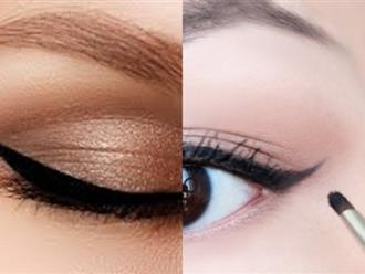 Hướng dẫn kẻ eyeliner cho từng dáng mắt