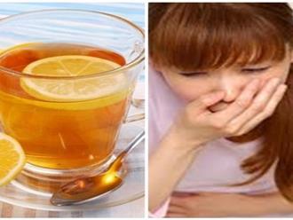 'Mặt trái' đáng sợ của việc uống nước chanh mật ong