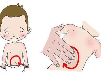 Trị táo bón cho trẻ sơ sinh không cần dùng thuốc