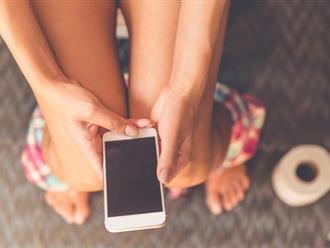 Bạn sẽ không còn dám mang điện thoại vào nhà vệ sinh sau khi biết các tác hại ghê gớm này