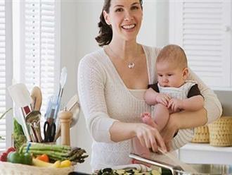 Bí quyết giảm cân sau sinh đơn giản và hiệu quả nhất