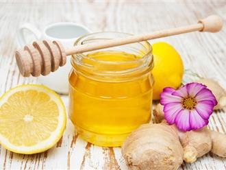 Công dụng tuyệt vời của cách giảm cân bằng mật ong và gừng