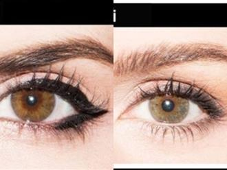 """Cách vẽ viền mắt """"bao đẹp"""" cho cô nàng mắt bé, mắt một mí"""