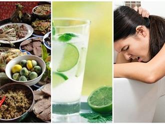 'Thần dược' trị ngộ độc thực phẩm khẩn cấp tại nhà