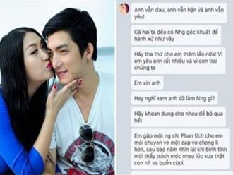 Bảo Duy tiết lộ tin nhắn Phi Thanh Vân van xin tha thứ và mong chồng cũ quay về
