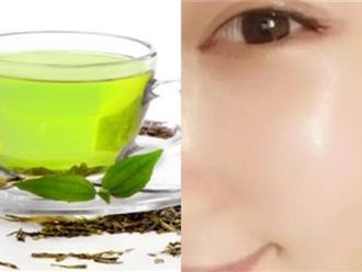 Rửa mặt với trà xanh, muối hột là cách chăm sóc da tuyệt vời mùa nắng