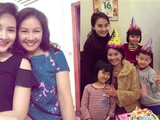 Nhan sắc trẻ đẹp như 'hai chị em' khi ở cạnh con gái của mẹ ruột Bảo Thanh trong 'Sống chung với mẹ chồng'