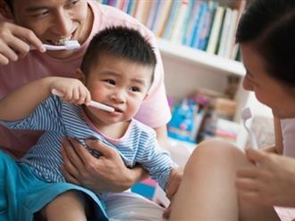 Học mẹ Nhật bí quyết chăm sóc răng miệng cho trẻ