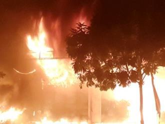 Cháy trường mầm non ở quận Phú Nhuận