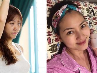 Xem những ảnh để mặt mộc của Hari Won và Ngọc Lan ai nghĩ họ bằng tuổi nhau?