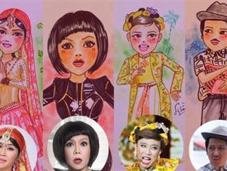 Hoài Linh, Mỹ Tâm… cùng dàn sao Việt 'biến hóa' qua nét vẽ chibi đầy nghệ thuật